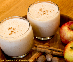 apple and cinnamon smoothy