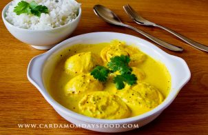 egg and curd curry