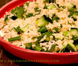 green couscous