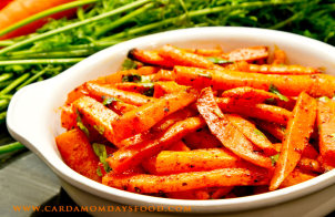 Roast Carrot with Smoked Paprika