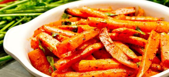 Roast Carrot with Smoked Paprika