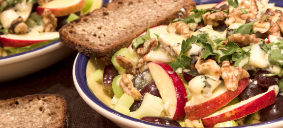 warm waldorf salad