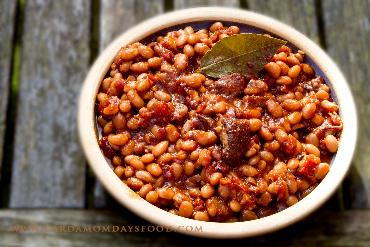 Boston Baked Beans - Cardamom Days Food