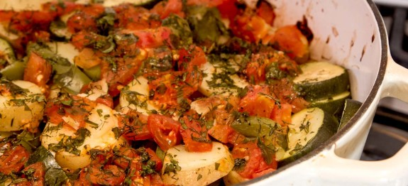 Greek Vegetable Casserole