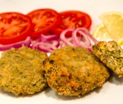 spicy fish cakes