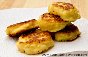 parsnip fritters