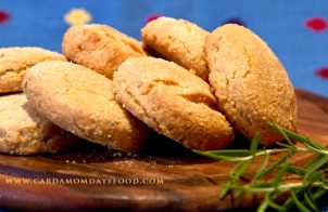 rosemary and almond biscuits