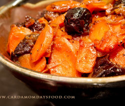 Sweet and Sour Carrot Khoresh