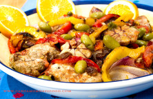 mexican chicken with orange