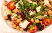 warm revithia salad