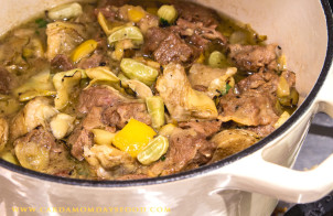 Lamb Tagine with Preserved Lemons
