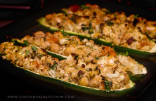 Persian Stuffed Courgettes